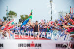 Matt Trautman enjoys the red carpet at the 2014 Ironman…