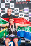 Paul Kaye & Matt Trautmann enjoy a South African victory…