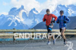 Athletes running at the 2014 Patagonia International Marathon in Puerto…