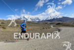 Athlete running at the 2014 Patagonia International Marathon in Puerto…