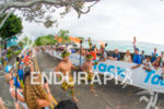 The winner's escort at the 2014 GoPro Ironman World Championship…