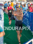 Sebastian KIENLE (GER) in T1 before the bike at the…