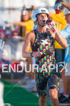 Justin Daerr in t1 at the 2014 GoPro Ironman World…