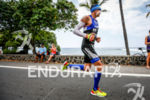 Andy Potts (USA) on the run at the Ironman World…