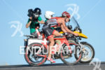 Caroline Steffen during the bike portion of the 2014 GoPro…