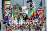 Nils Frommhold celebrating at the finish line of the 2014…
