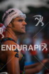 Justin Daerr before the start of the 2014 GoPro Ironman…