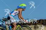 Mirinda Carfrae during the bike portion of the 2014 GoPro…