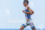 Andreas Raelert during the run portion of the 2014 GoPro…
