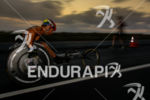 Paratriathlete during the run portion of the 2014 GoPro Ironman…