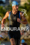 Michael Raelert during the swim portion of the 2014 Ironman…