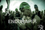 Athlete praying prior to the race start of the 2014…