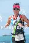 Mette Moe Pettersen during the  run portion of the 2014…