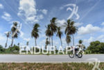 Heavy winds during the bike portion of the 2014 Ironman…
