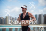Bryan Rhodes during the run portion of the 2014 Ironman…