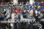 The transition area at Ironman Arizona on November 16, 2014…