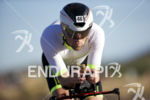 Edo van der Meer during the bike leg at Ironman…