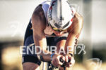 Horst Reichel during the bike leg at Ironman Arizona on…