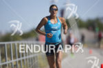 Lisa Huetthaler during the run at Ironman Arizona on November…