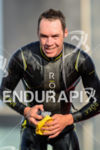 Tim Reed during the swim portion of the 2014 Challenge…
