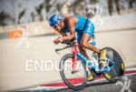 Andreas Dreitz during the bike portion of the 2014 Challenge…