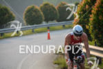 Josh Amberger during the bike portion of the 2015 Ironman…