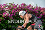 Domenico Passuelo during the bike portion of the 2015 Ironman…
