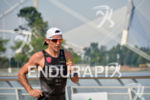 Domenico Passuelo during the run portion of the 2015 Ironman…