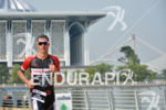 Craig Alexander during the run portion of the 2015 Ironman…