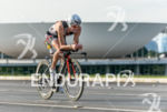 Richie Cunningham during the bike portion of the 2015 Ironman…
