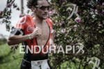 Tim Don during the run portion of the 2015 Ironman…