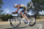 Matty Reed in the front pack during the bike leg…