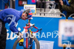 Jonathan Brownlee prepares for the 2015 London Itu World Triathlon…