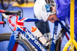 Alistair Brownlee does his pre start checks at the 2015…