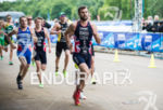 Adam Bowden on the run stage at the 2015 London…