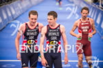 Alistair Brownlee & Jonathon Brownlee discuss their race at the…