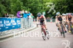 Sophie Caldwell competes on the bike stage at the 2015…