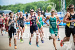 Vicky Holland, Andrea Hewitt and Erin Densham, on the run…