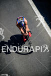 Tim O'Donnell during the bike portion of the 2015 Ironman…
