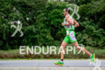Marino Vanhoenacker during the run portion of the 2015 Ironman…