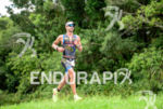 Tim O'Donnell during the run portion of the 2015 Ironman…
