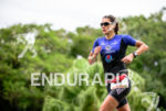 Ariane Monticeli during the run portion of the 2015 Ironman…