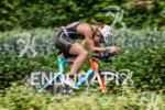 Svenja Bazlen on the bike at the Ironman 70.3  Kraichgau…