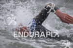 Brian Fleischmann during the swim at Escape From Alcatraz Triathlon…