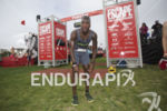 Max Fennell comes thru the finish at Escape From Alcatraz…