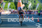 Andreas Giglmayr competes in the bike leg during the 2015…