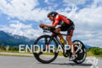 Ivan Rana competes in the bike leg during the 2015…