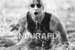 Doug MacLean during the  swim turnaround  and halfway mark at…