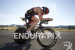 Andy Potts during the first lap of the bike leg…