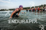 Caroline Steffen at the swim of the Ironman European Championship…